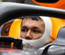 """Albon: """"Red Bull Racing verwachtte productieve eerste testweek al"""""""