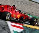 Vettel leads morning session, Verstappen spins out