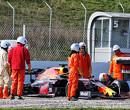 Verstappen spint, Vettel snelste in Barcelona