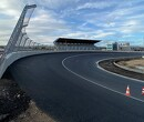 Photos reveal Zandvoort's banked final corner