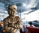 Statue of Bruce McLaren unveiled at Woking