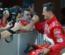<b>Silverstone 1998</b>: Schumacher wint in pits en zet stewards in hun hemd