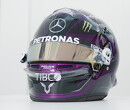 Hamilton unveils new helmet design supporting BLM