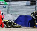 Crash  Ricciardo zorgt voor gekneusde knie en tweede ziekenhuisbezoek
