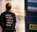 FIA stopt Lewis Hamilton van maken politieke boodschap op podium
