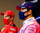 Sebastian Vettel krijgt complimenten van teambaas Binotto