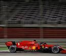 Motorproblemen Vettel, gebruikte krachtbron wordt gemonteerd