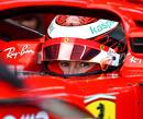<b>Foto's:</b> Armstrong en Shwartzman testen voor Ferrari op Fiorano