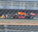 De RB16B in actie op het circuit van Silverstone