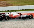 <b>Foto:</b> Robert Kubica verricht shakedown van Alfa Romeo C41