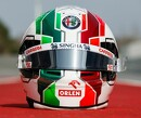 Antonio Giovinazzi verfijnt helmdesign met Italiaanse kleuren