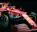 The livery of Ferrari SF21 for season 2021
