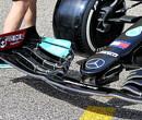 FIA gaat in op verzoek van Red Bull en onderzoekt voorvleugel Mercedes
