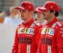 Charles Leclerc en Carlos Sainz vermaken zich op Imola