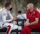 <b> Video: </b> Schumacher en Norris onthullen hun tactiek bij een zombie-aanval
