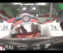 HAHA! Kimi Raikkonen valt in slaap tijdens rode vlag VT3