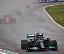 """Lewis Hamilton na tweede plaats GP Emilia Romagna: """"Niet een van mijn beste dagen, maar goede punten gescoord voor het team"""""""