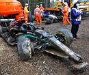 Kapot chassis zorgt voor kink in de kabel bij ontwikkeling Mercedes
