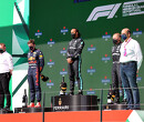 Hamilton, Bottas en Verstappen breken met zijn drieën nieuw F1-record