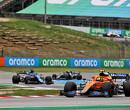 Lando Norris worstelt zijn McLaren naar achtste plaats in Grote Prijs van Spanje