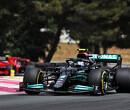 """Bottas klaagt over slechte strategie van Mercedes: """"Met twee pitstops had ik gewonnen"""""""