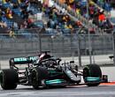 """Lewis Hamilton was extra voorzichtig en conservatief: """"Je wilt 'm niet in de muur"""""""