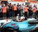 Juncadella houdt Sainz van zich af in derde Euroseries-race