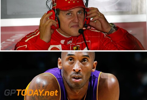 De Mamba Mentality verenigt Kobe Bryant en Michael Schumacher