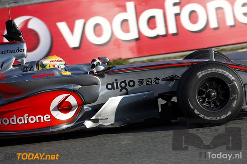 Testsessie Jerez, 10 januari 2008
