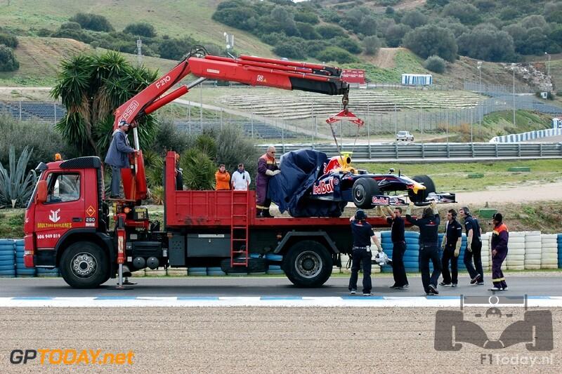Testsessie Jerez, 9 februari 2009