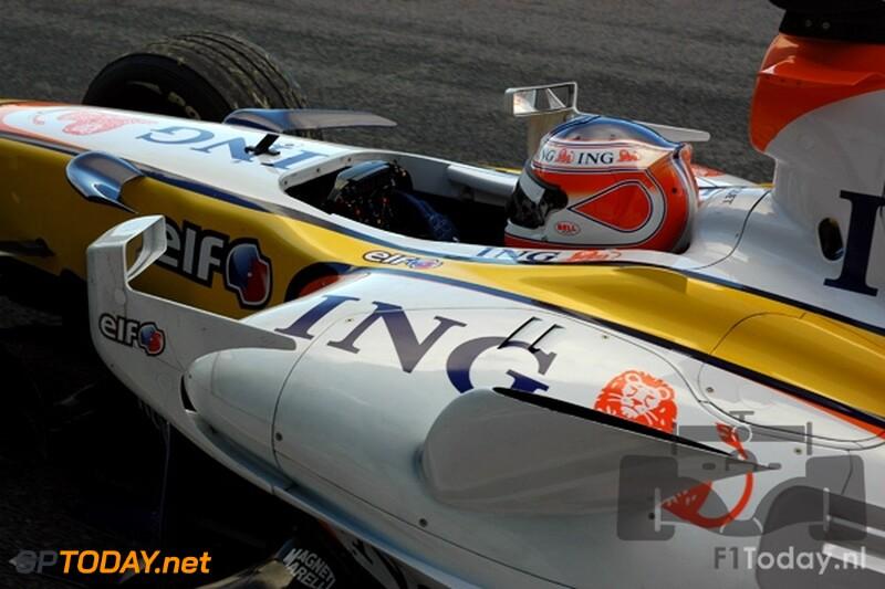 Testsessie Jerez, 14 januari 2008