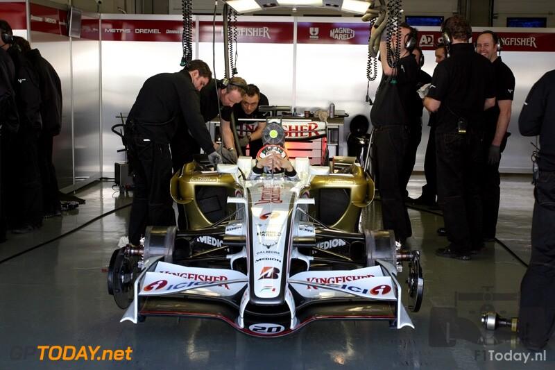 Testsessie Jerez, 13 februari 2008