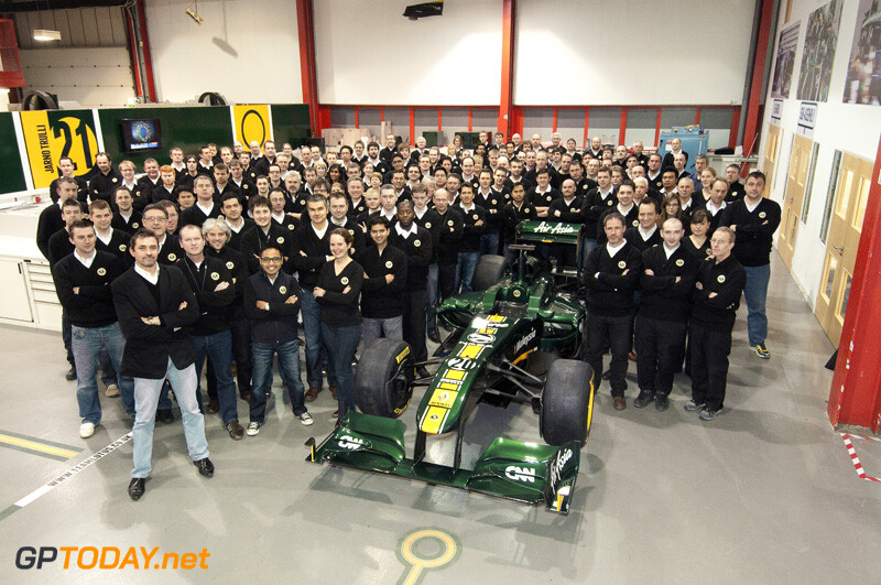 Team Lotus T128 - Hingham, 31 januari 2011