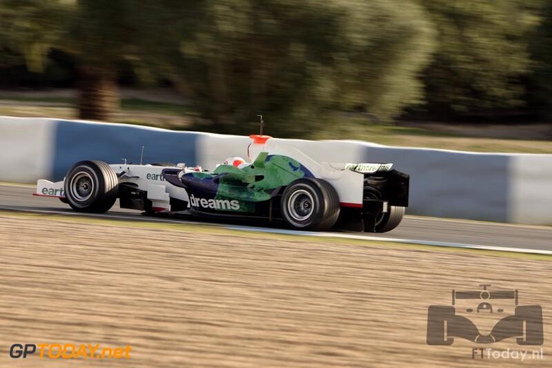 Testsessie Jerez, 12 februari 2008