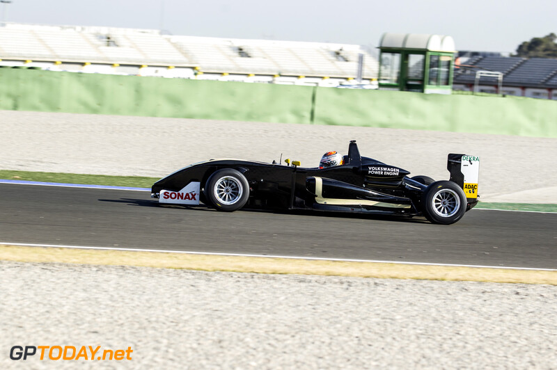 Max Verstappen F3 Test Valencia - 18-12-2013