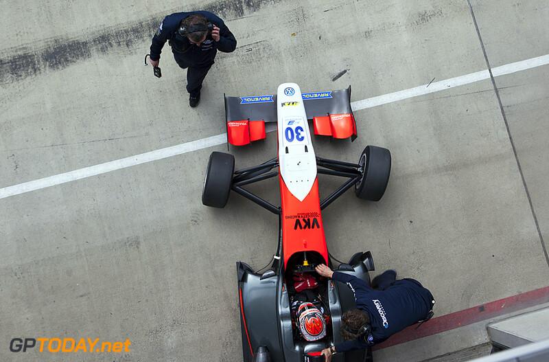 Max Verstappen F3 test Austria 2014 © Richard de Klerk