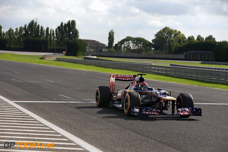 Max Verstappen F1 test Adria 2014 © Richard de Klerk