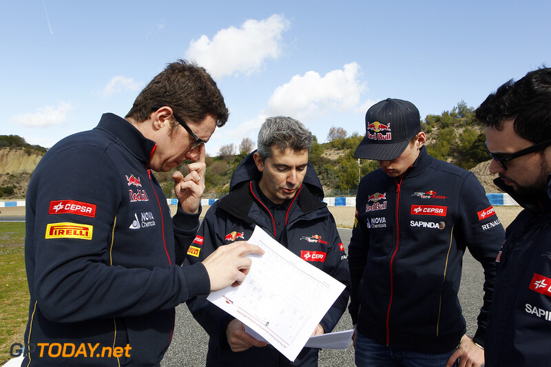 Jerez preparations, January 30, 2015