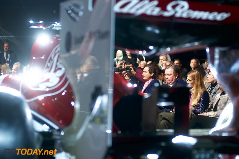Alfa Romeo Sauber launch