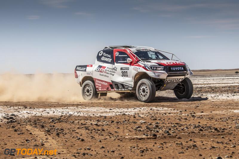 Fernando Alonso Dakar test met Toyota