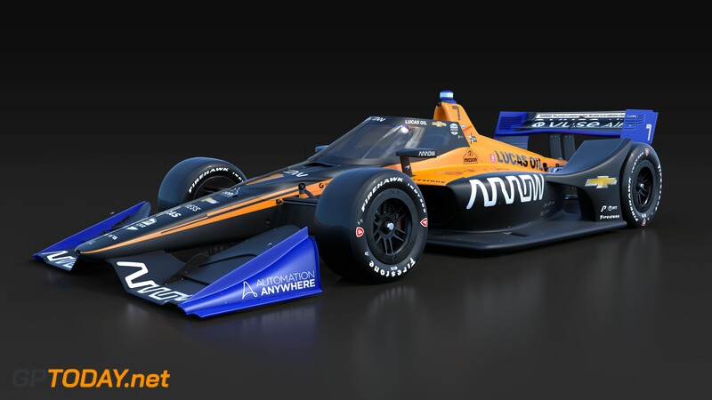 IndyCar Arrow McLaren SP Livery