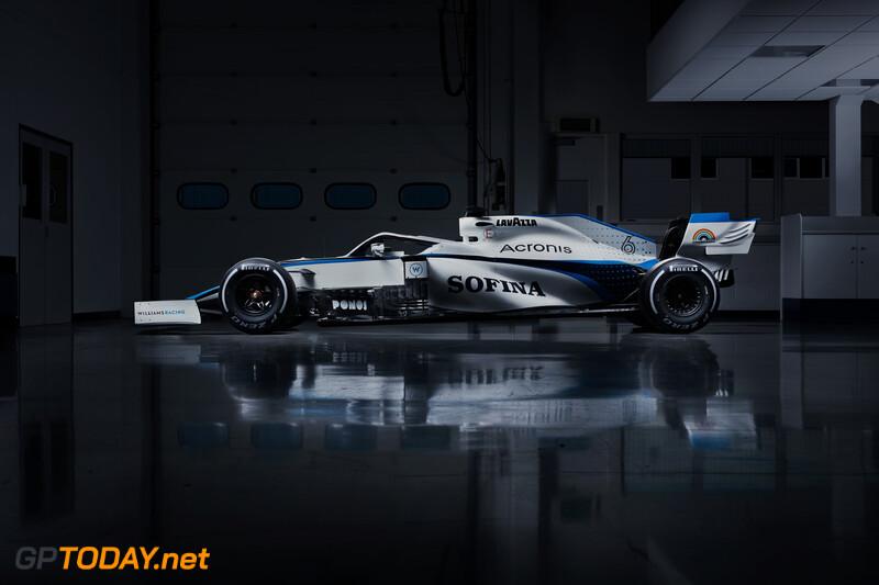 Nieuw Williams FW43 livery