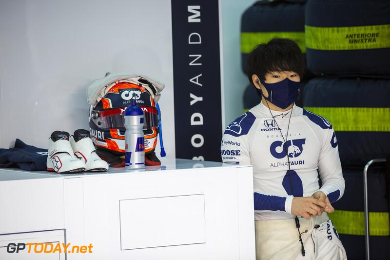 Yuki Tsunoda F1 Test in Imola