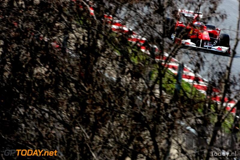 Testsessie Barcelona, 25 februari 2010