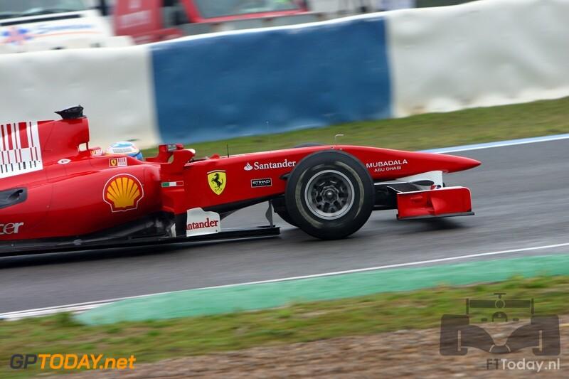 Testsessie Jerez, 10 februari 2010