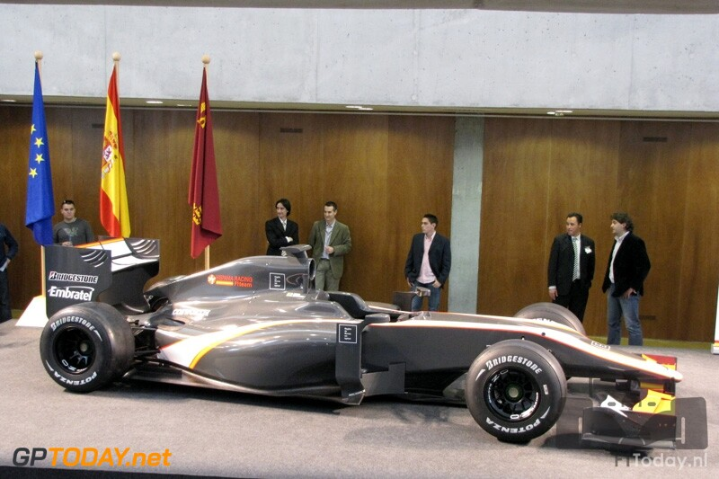 Hispania Racing F110 - Murcia, 4 maart 2010