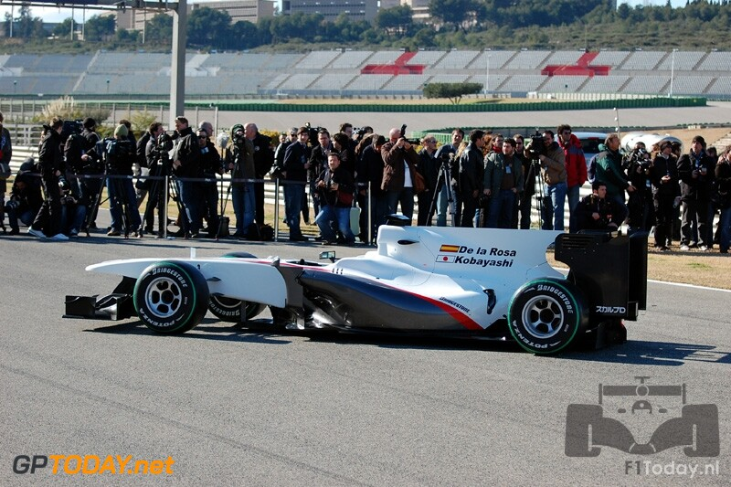 Sauber C29 - Valencia, 31 januari 2010