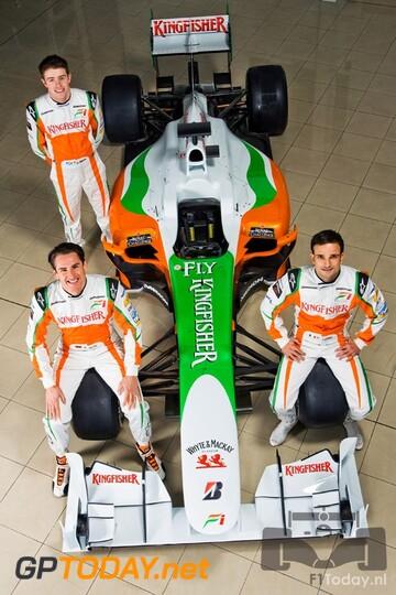 Force India VJM03 - Silverstone, 9 februari 2010