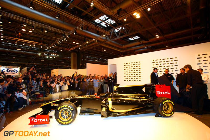 Lotus Renault GP livery voor 2011