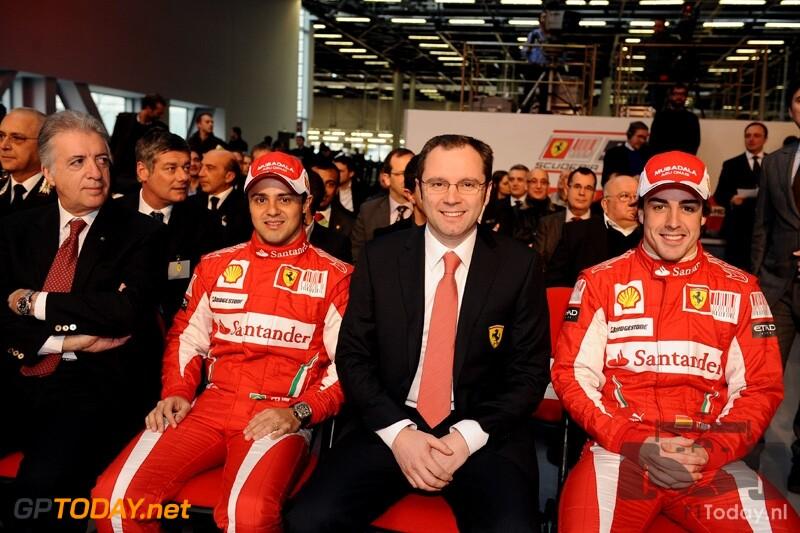 Ferrari F10 - Maranello, 28 januari 2010